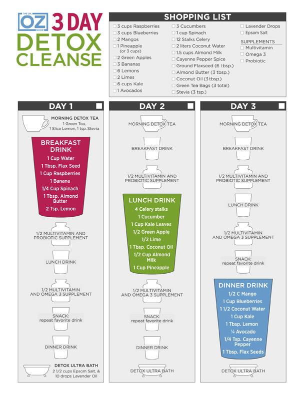 3-Day Detox Program